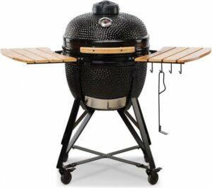 BONO Kamado Media 52cm (zwart) - grill - rook - stoof - levenslang garantie op keramiek