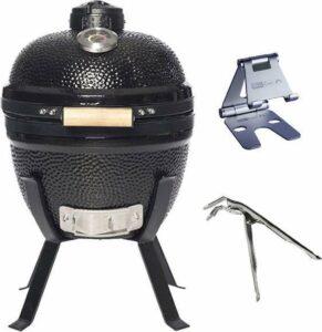 Grill Care Kamado Grill - 14 - Grillrooster Ø 32 cm - Met Handgreep - Zwart